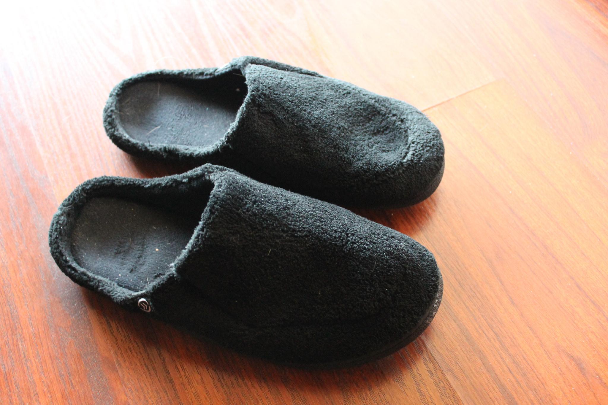 Winemaker David Scheidt's driving slippers...for road trips over 4 hours