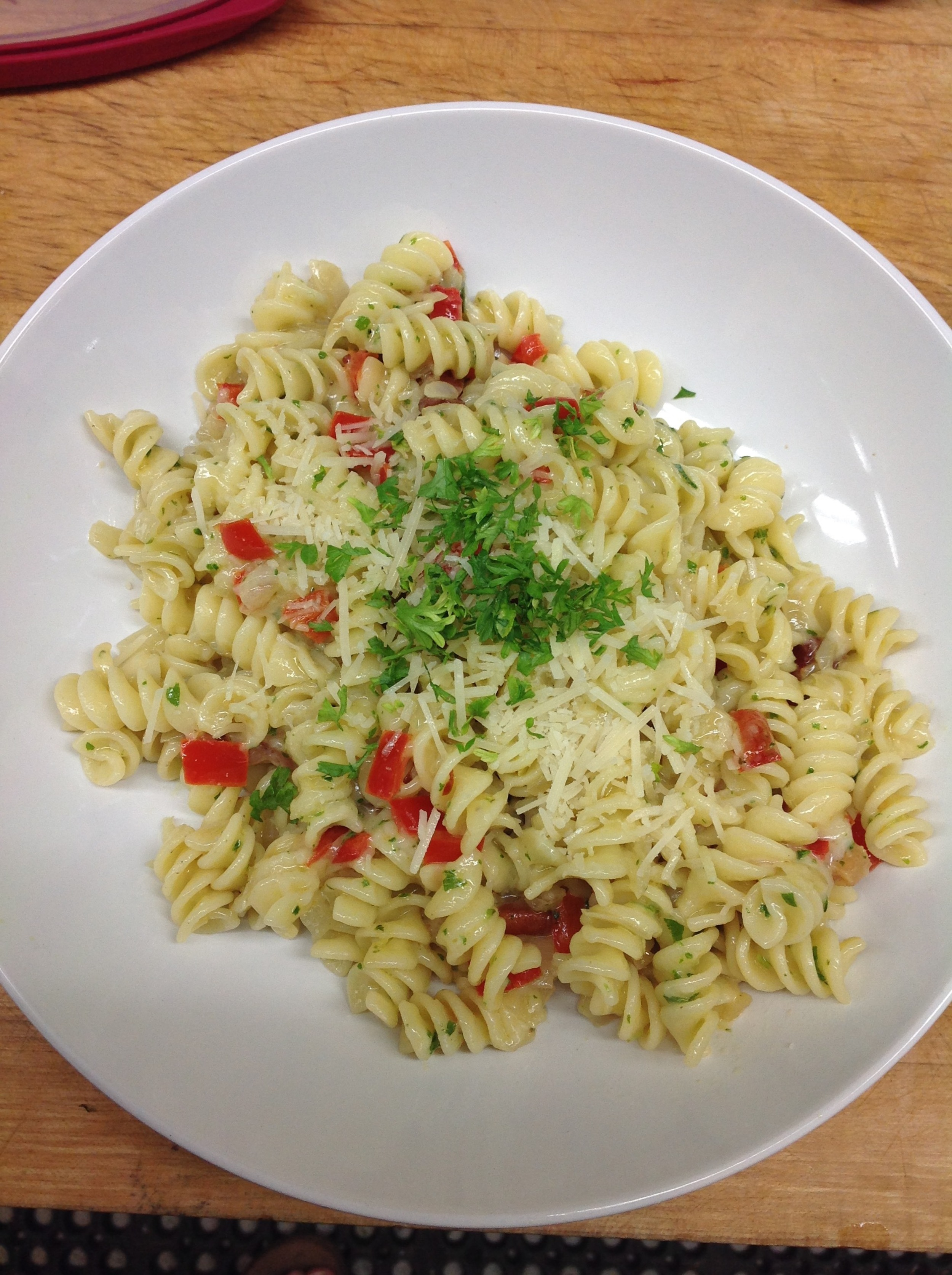 Fusilli the way my brother likes it