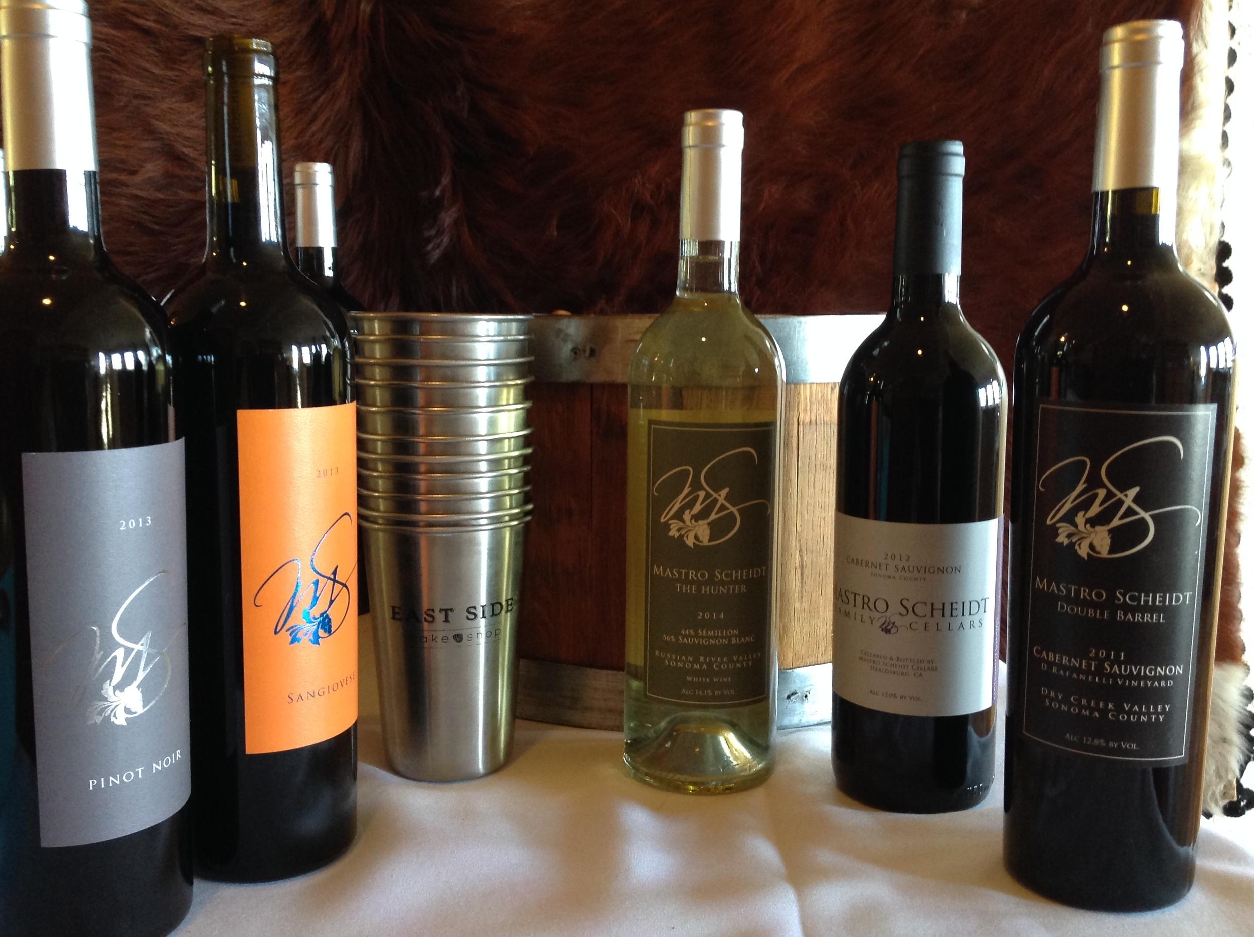 Mastro Scheidt wine dinner line-up