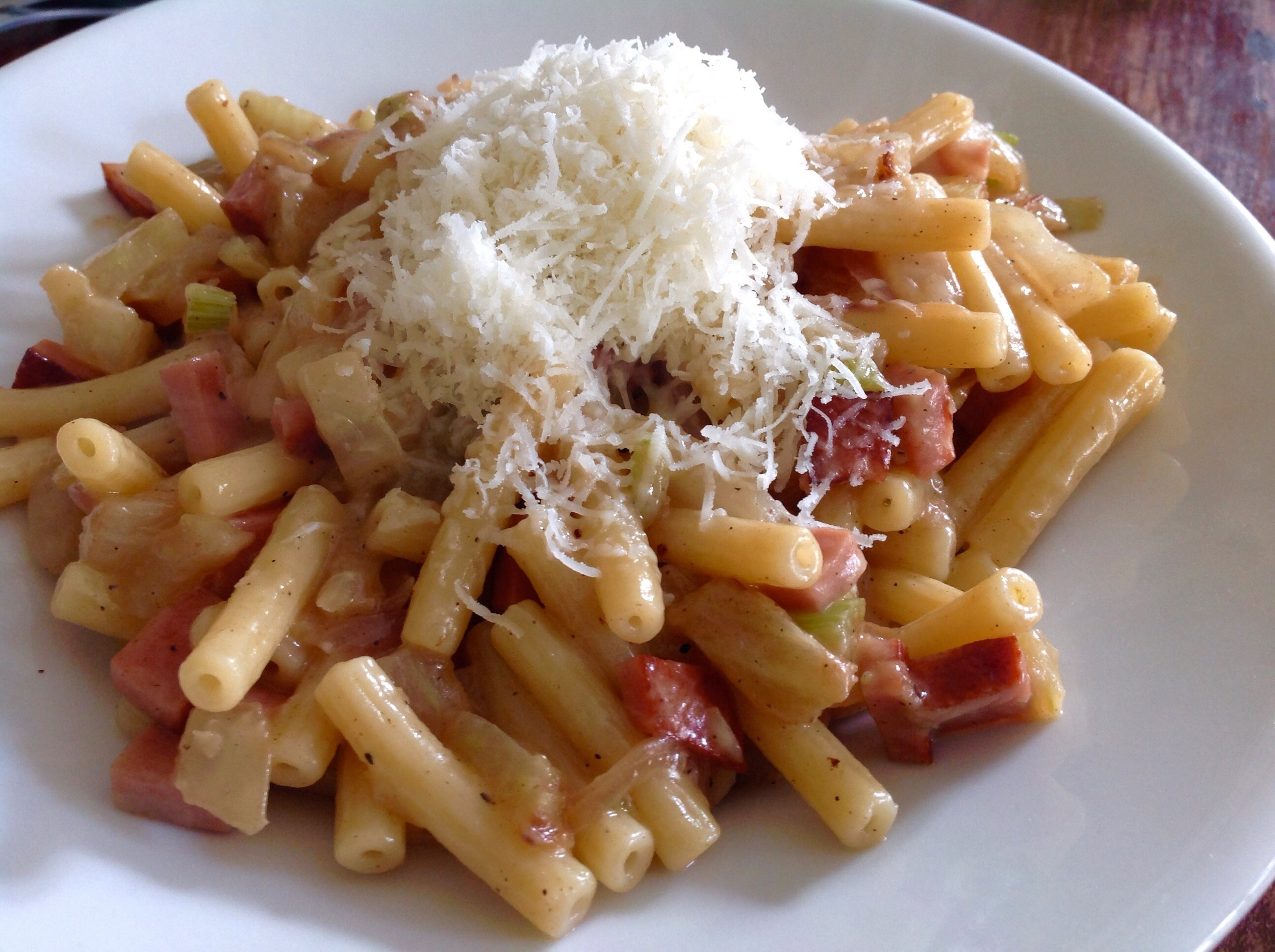 Homemade pasta in Parma
