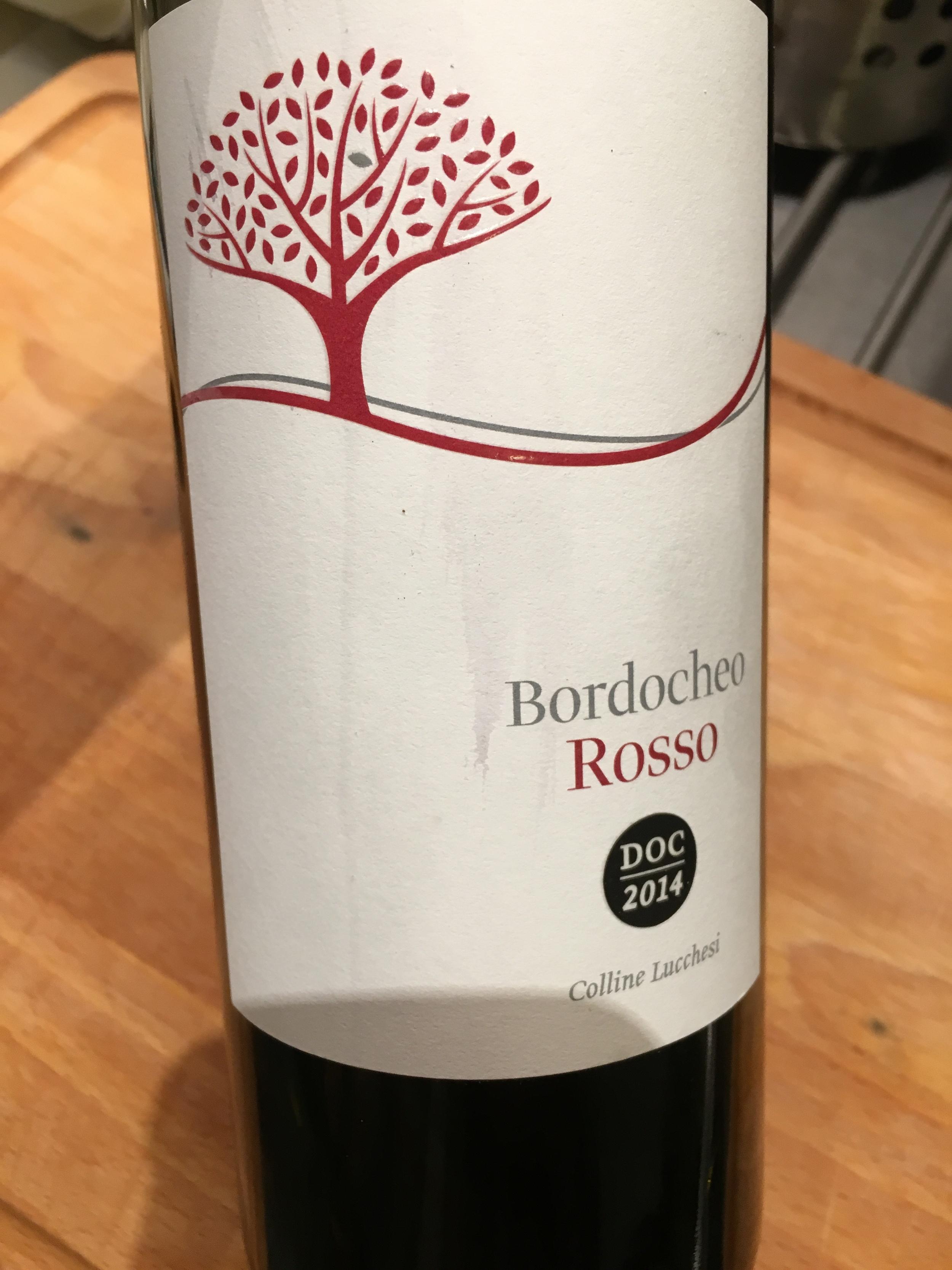 Bordocheo Rosso, Colline Lucchesi 2014