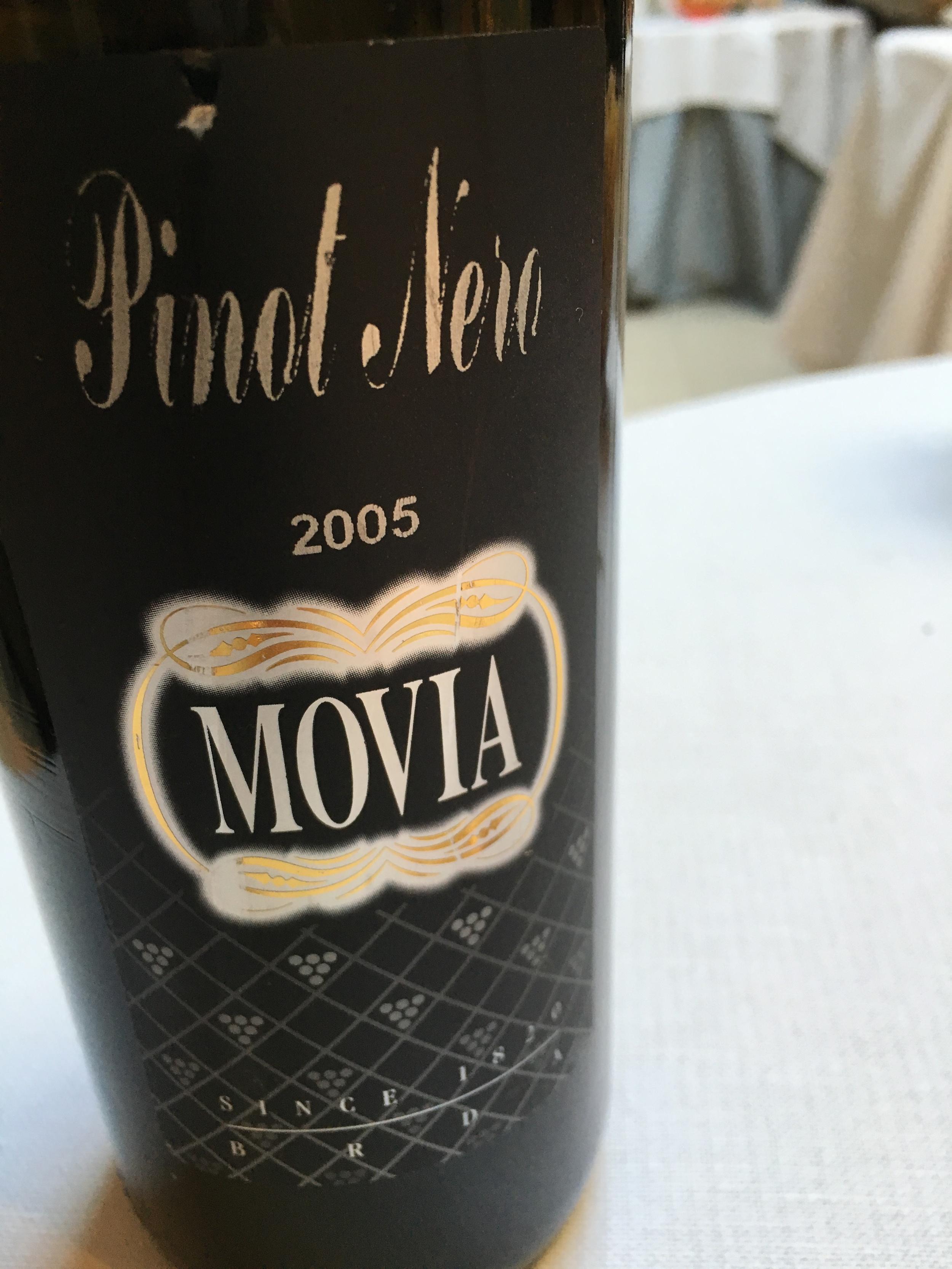 Movia 2005 Slovenian Pinot Noir