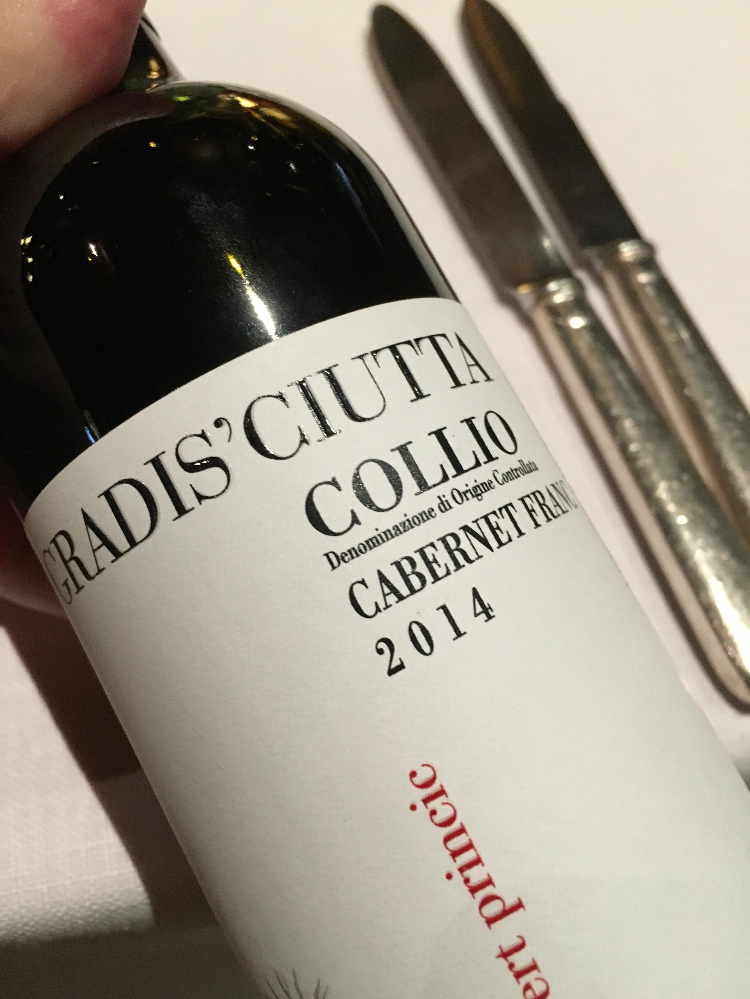 Gradis Ciutta Collio 2014 Cabernet Franc