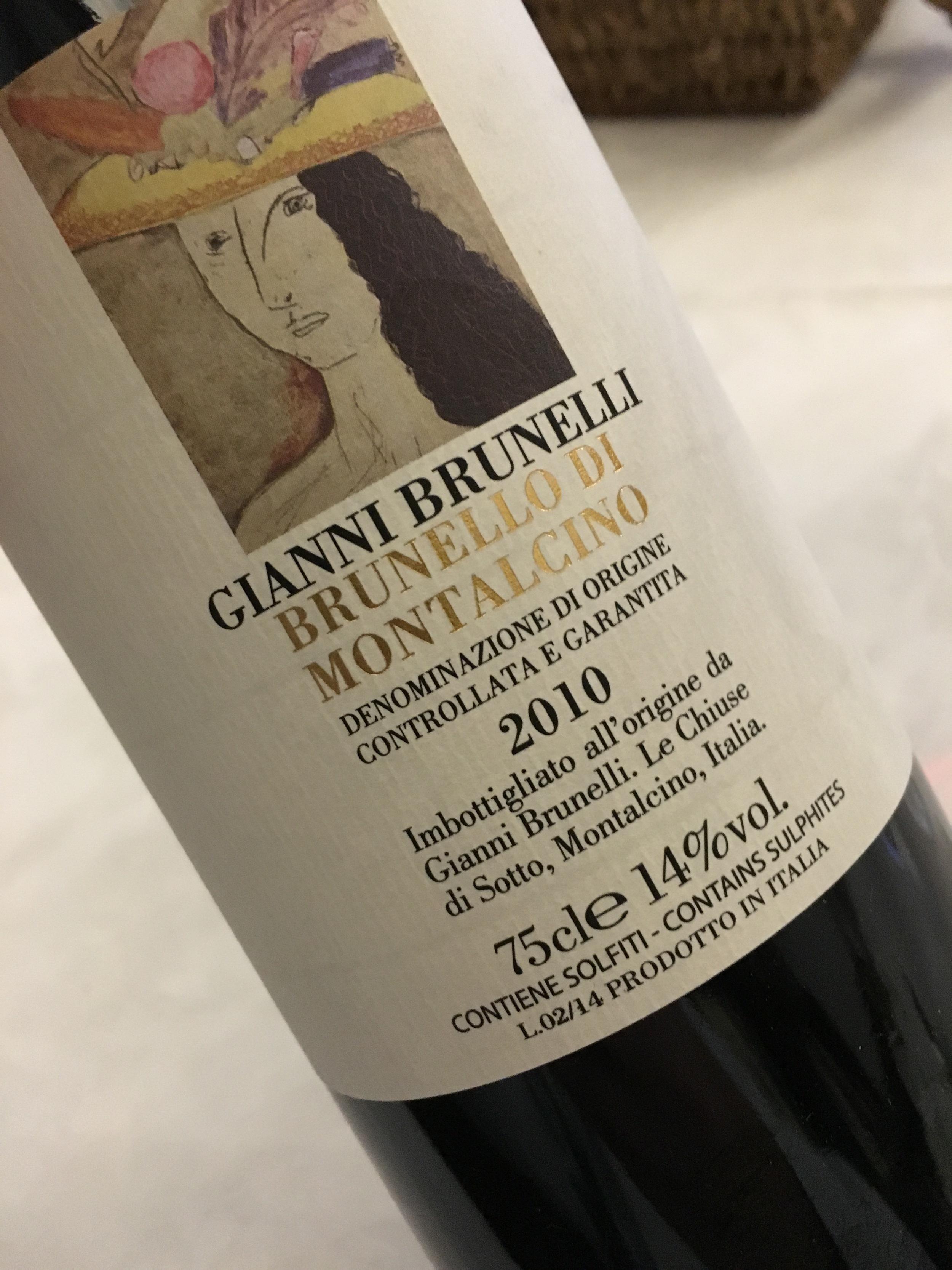 Gianni Brunelli 2010 Brunello di Montalcino