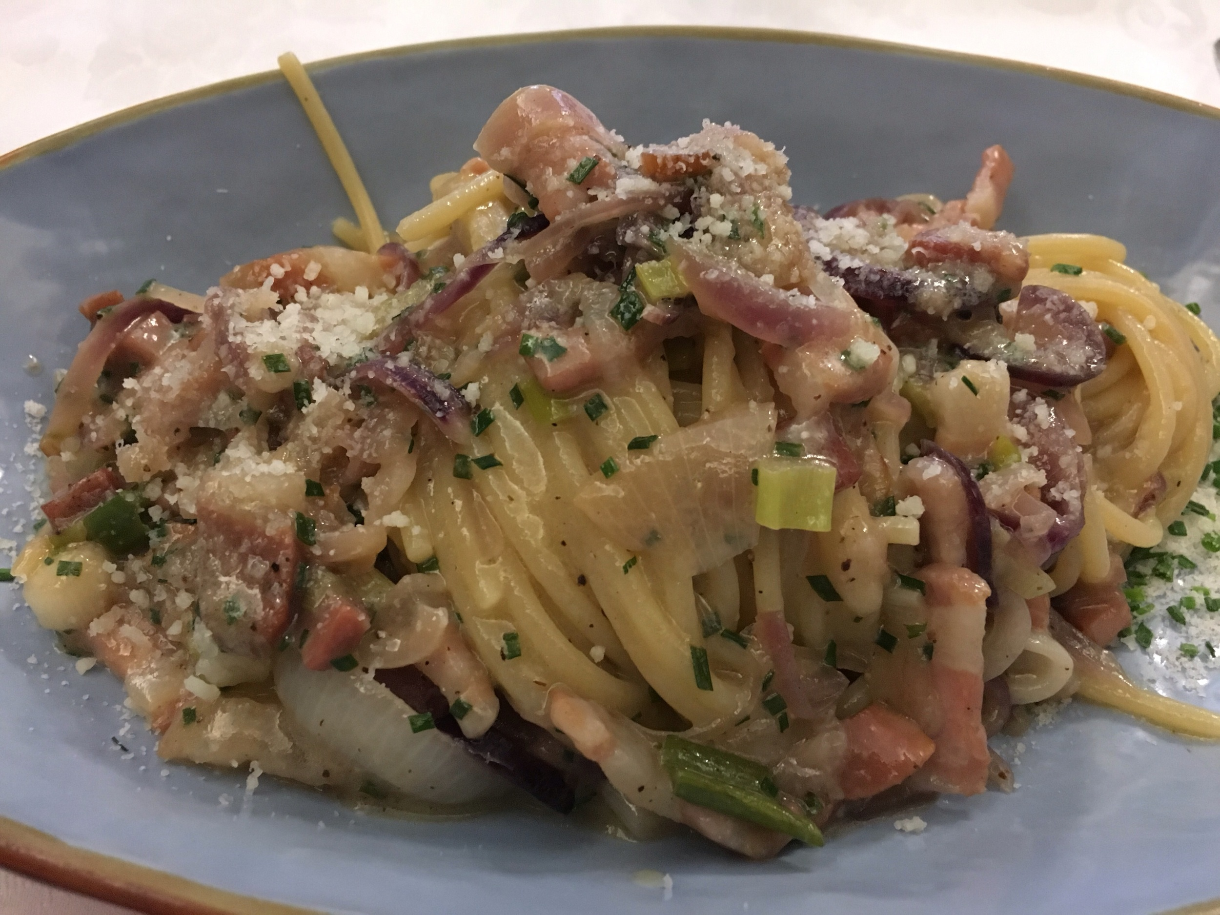 Seasonal winter pasta