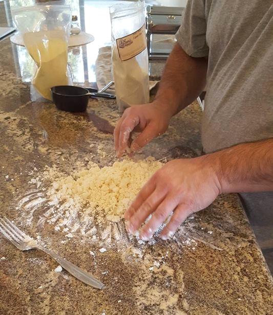 Baked potato for gnocchi