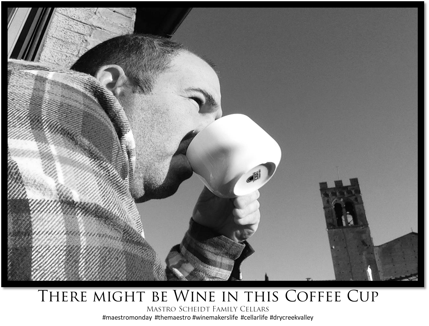 Coffee Cups and Wine