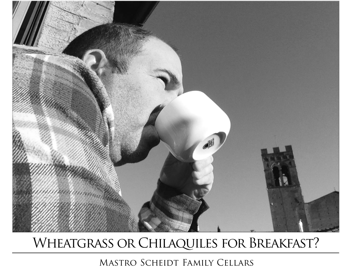 Wheatgrass or Chilaquiles?