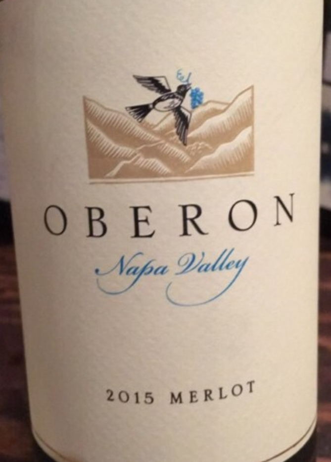 Oberon Merlot Napa