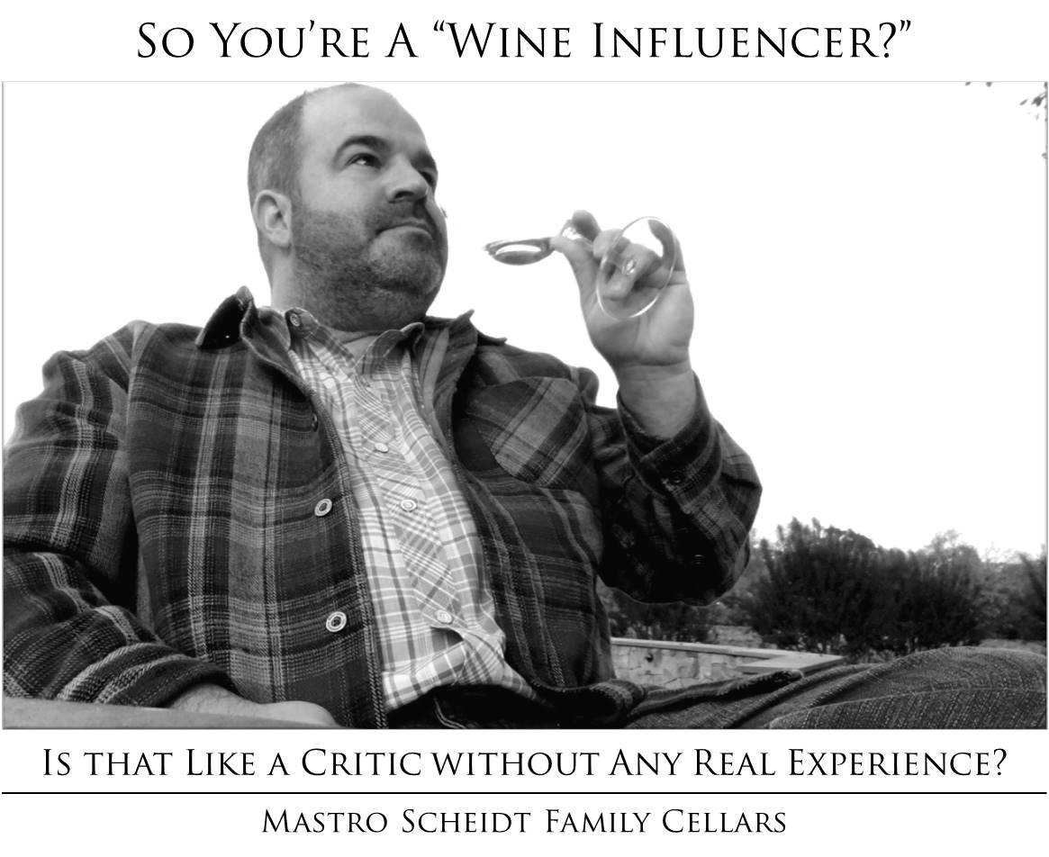 Wine influencer with no experience