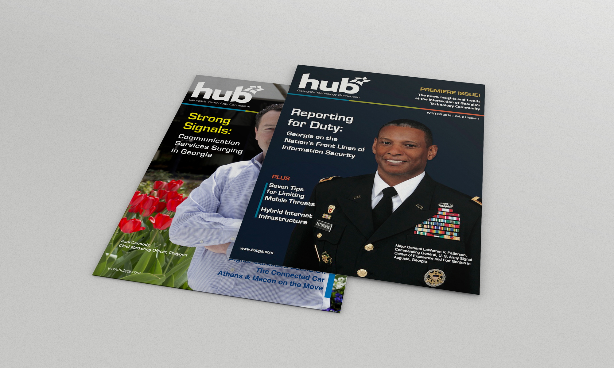 HUB Magazine issues