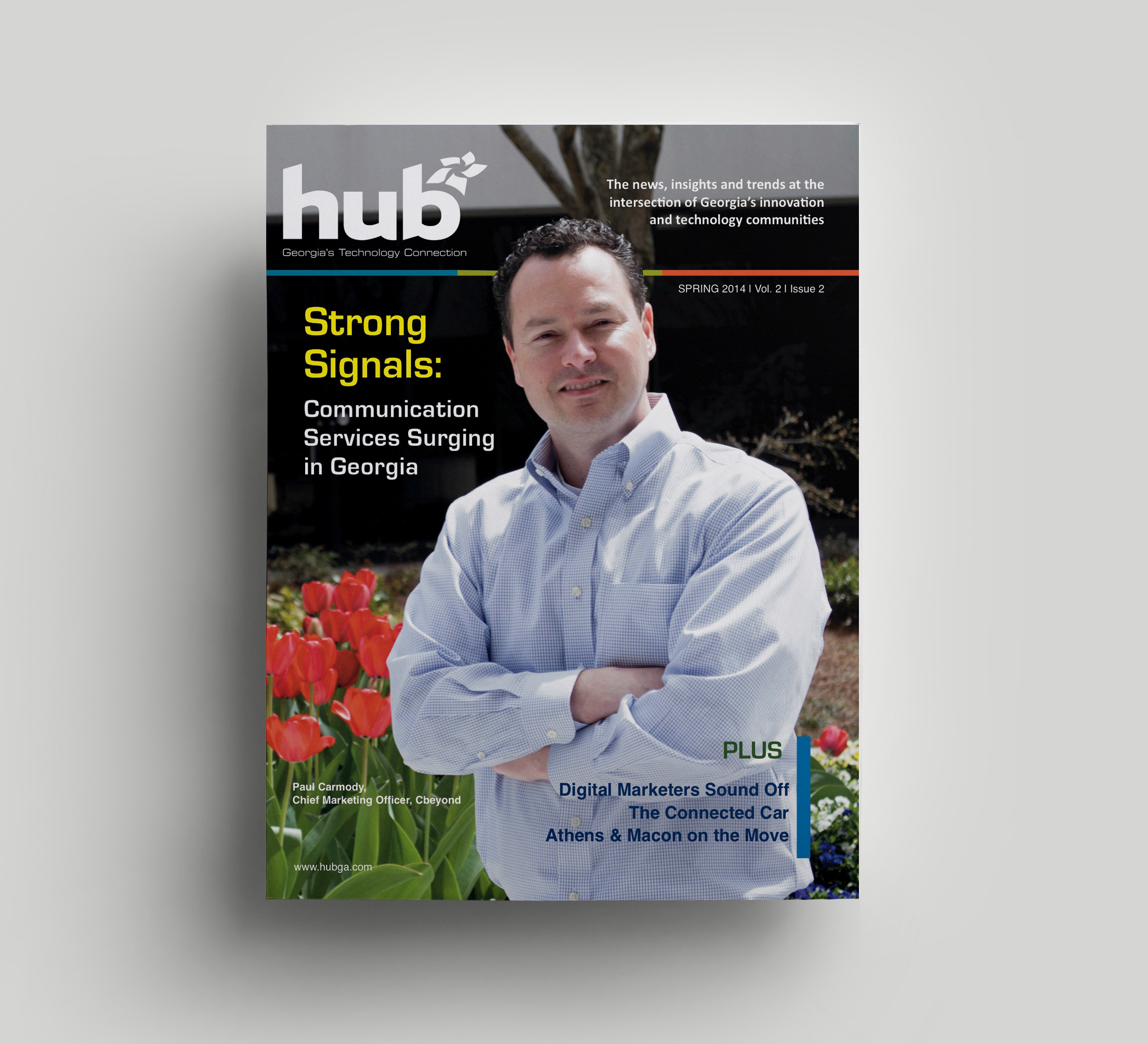 HUB Magazine Cover