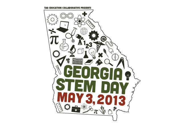 Georgia STEM Day branding