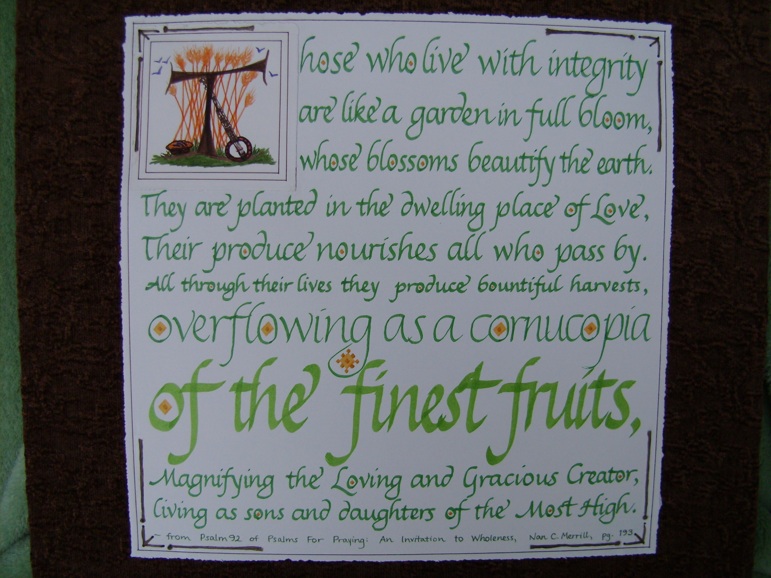 The Finest Fruits