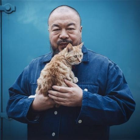 Ai Weiwei by  Matthew Niederhauser