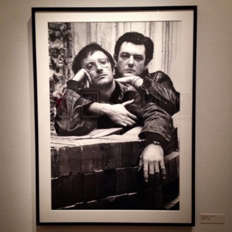 Xavier and Valentin Vallhornat from Madrid, 1989