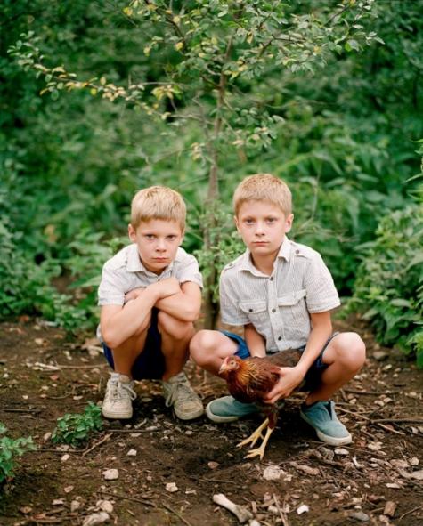 Braian and Ryan by Birgit Puve, 2014