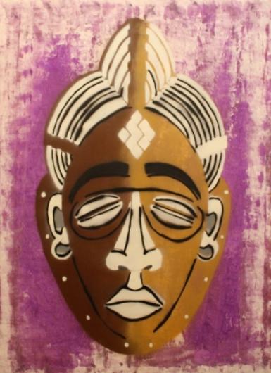 Royal Gloom, 2015 by Moussa Sanogo