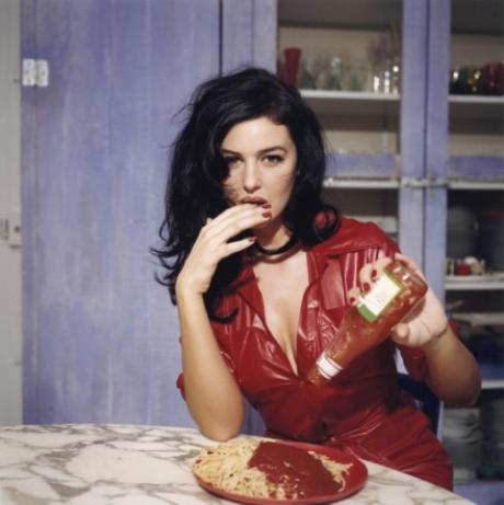 Breakfast with Monica Belluci, November 1995