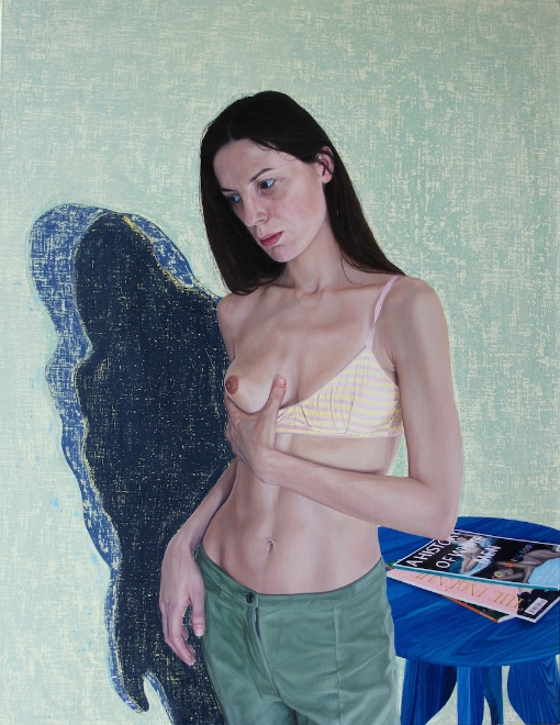 Contrary Mary , 26 x 34 inches, Oil on Linen