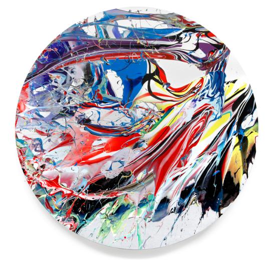 Waving & Winning the World  (2016) acrylic on canvas Katrin Fridriks
