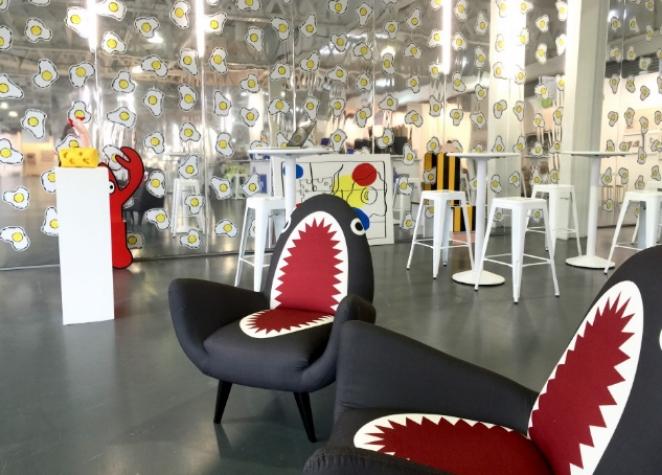 Philip Colbert's Installation at Art16