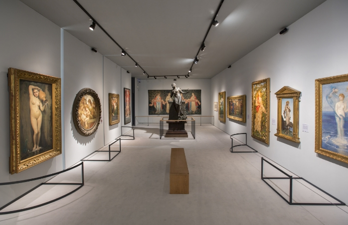 Installation View of Botticelli Reimagined