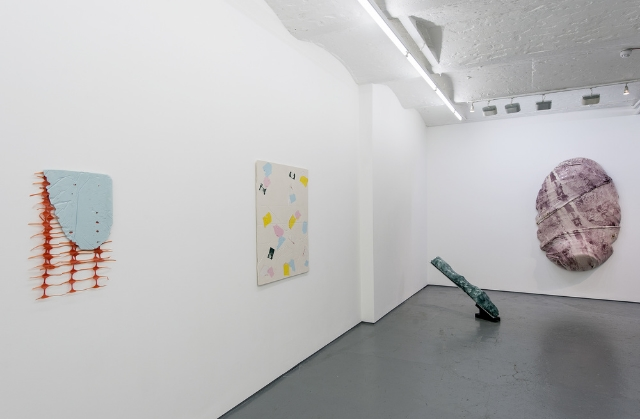 Install of Polymer at Fold Gallery