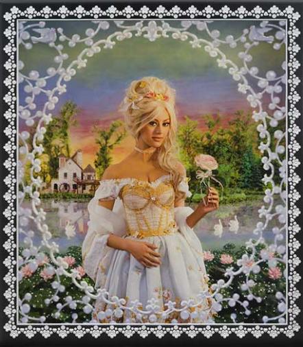 Marie Antoinette, the Queen's Hamlet  (Model: Zahia Dehar)' by Pierre et Gilles