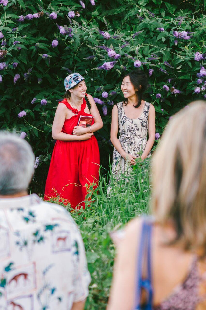 Co-curators Sasha Galitzine and Olga McKenzie