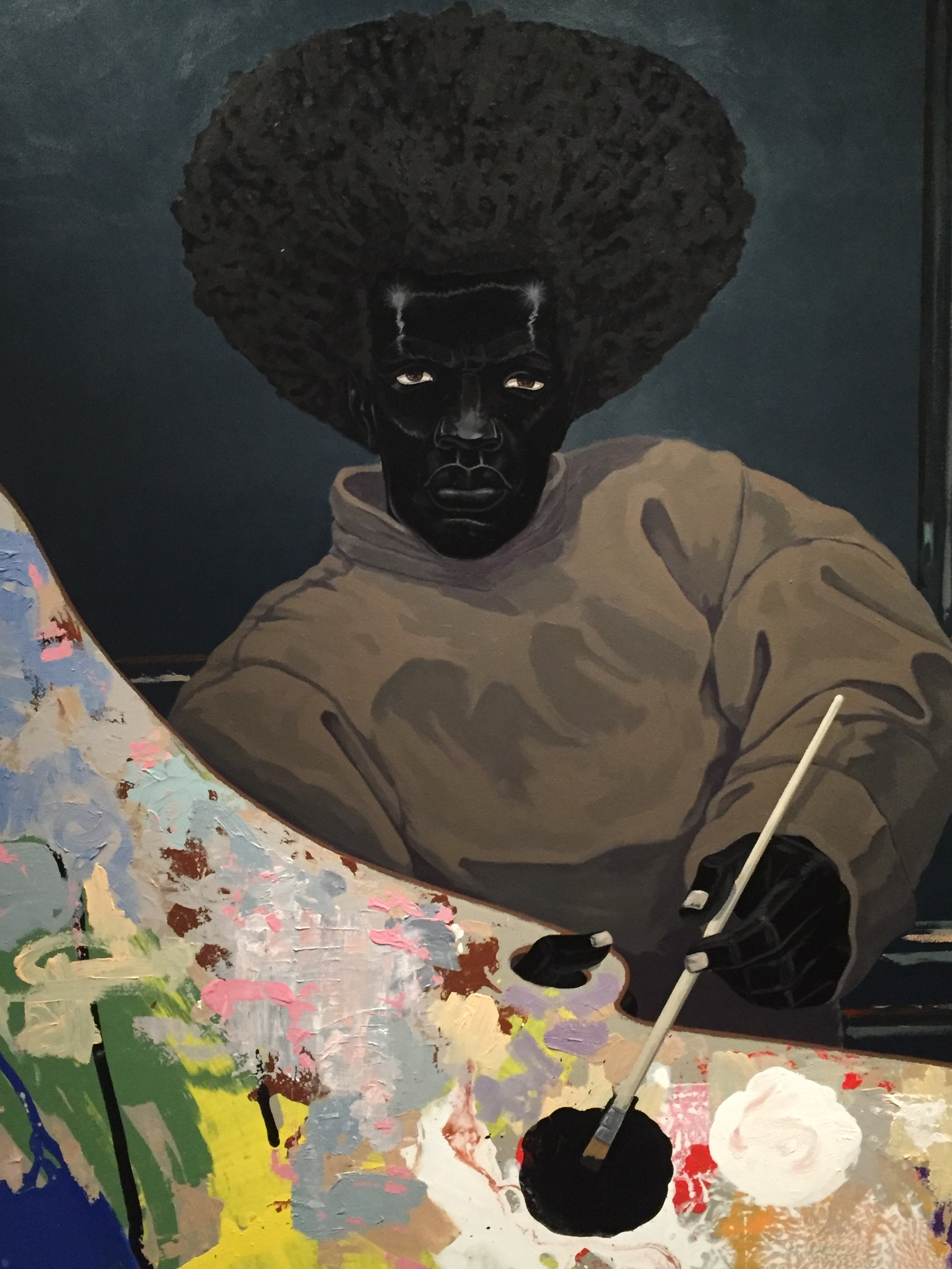 Kerry James Marshall Painting