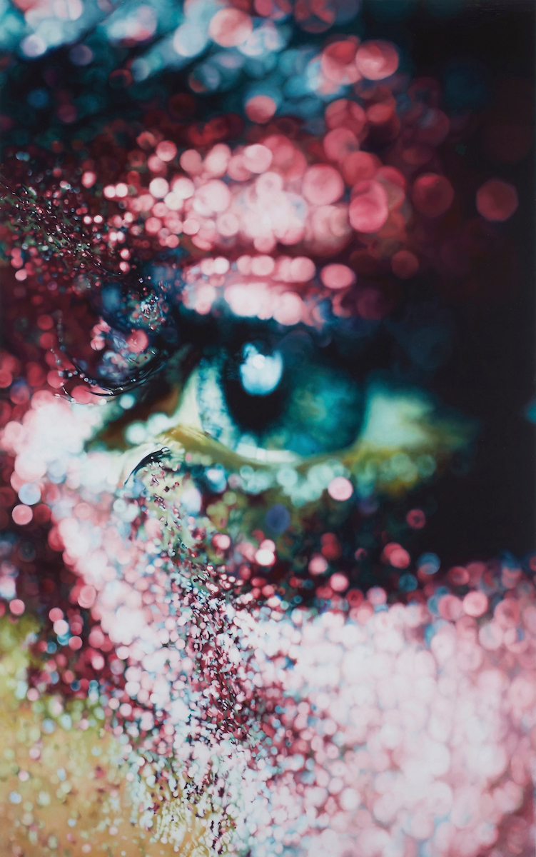 Marilyn Minter (American, b. 1948). Glazed, 2006. Enamel on metal, 96 x 60 in. (243.8 x 152.4 cm). Collection of Jeanne Greenberg Rohatyn and Nicolas Rohatyn, New York