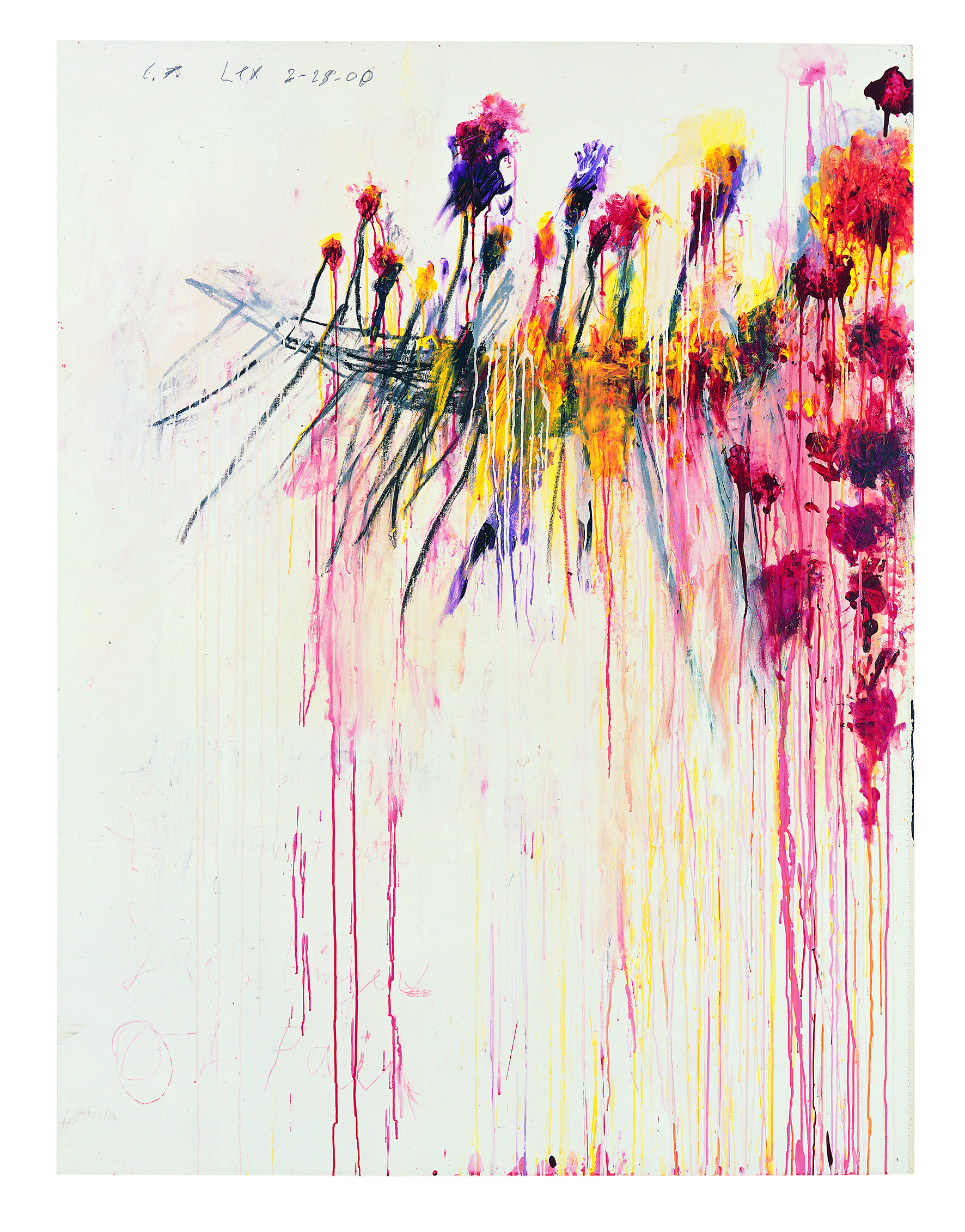 Coronation of Sesostris Part V Photograph: © Cy Twombly Foundation