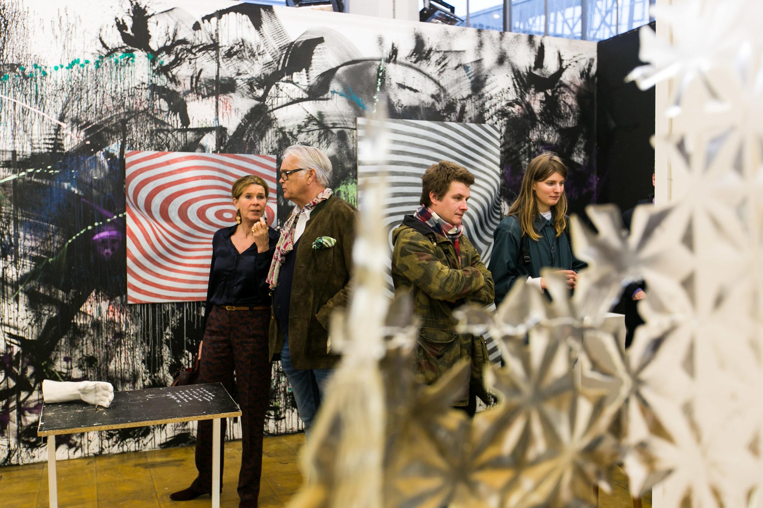 February 8, opening Art Rotterdam. Photos: Geert Broertjes