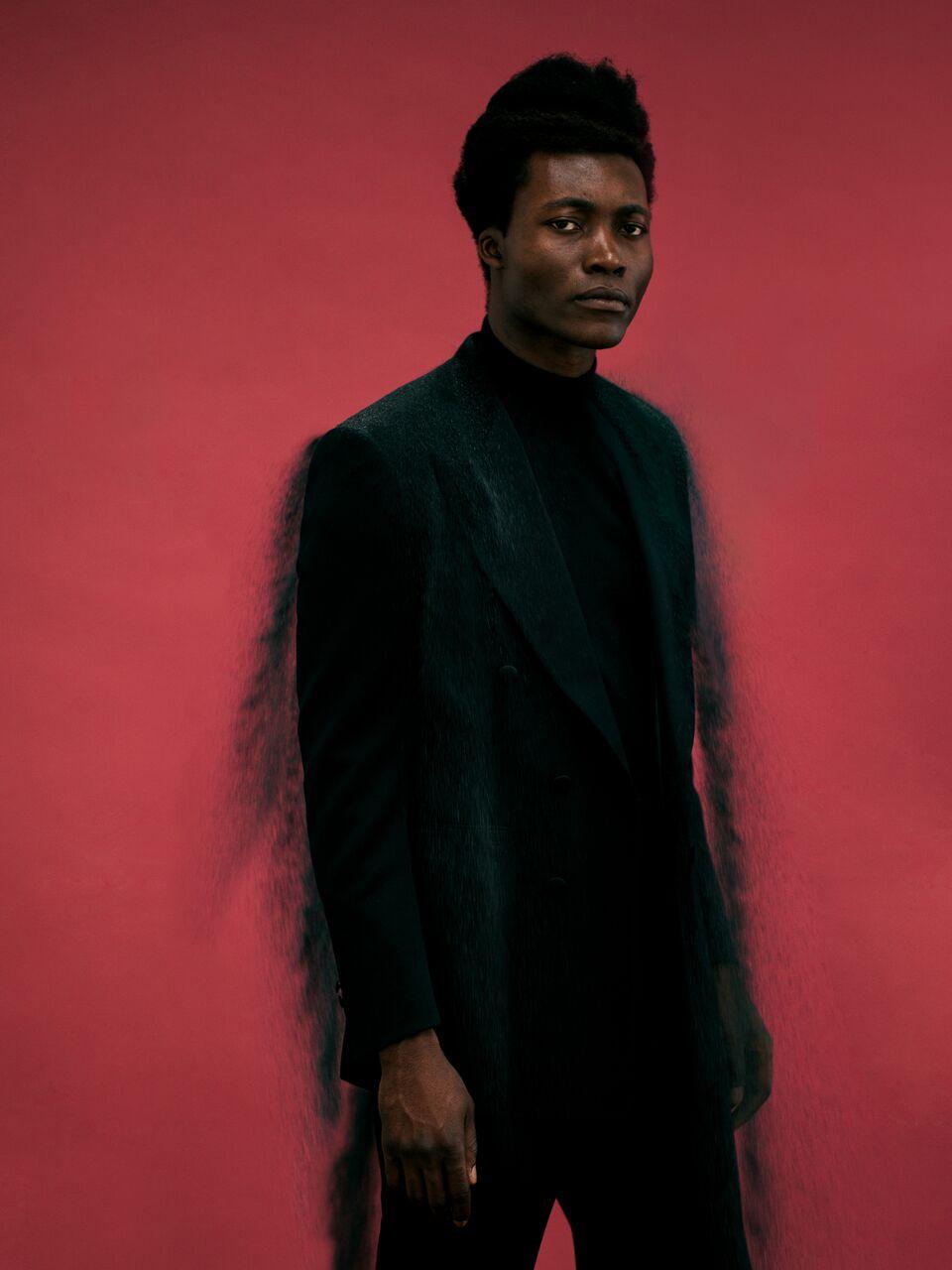 Benjamin Clementine for Wonderland Magazine. Outtake by David Uzochukwu