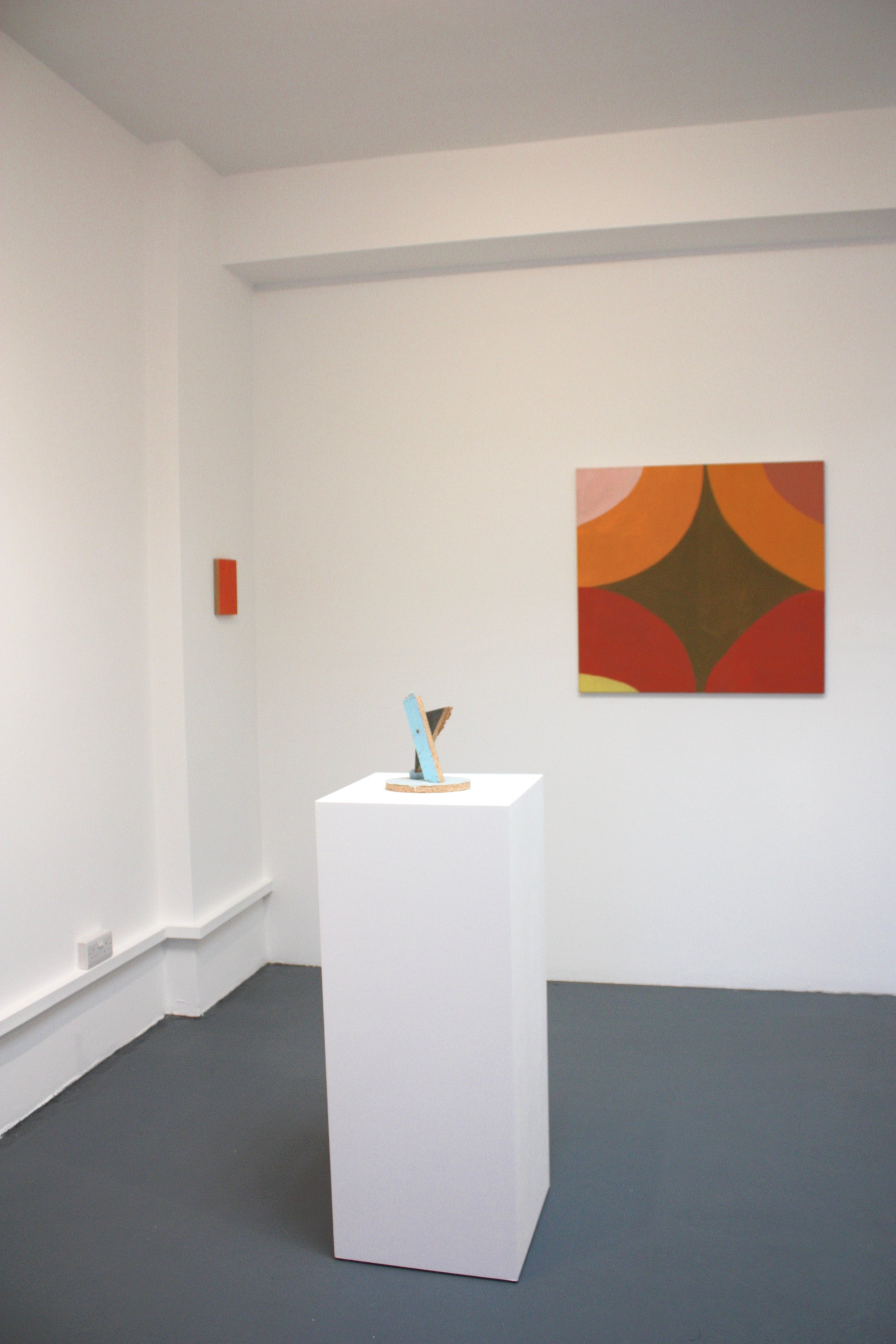 Colour, Order, System, Installation view, courtesy of Sid Motion Gallery