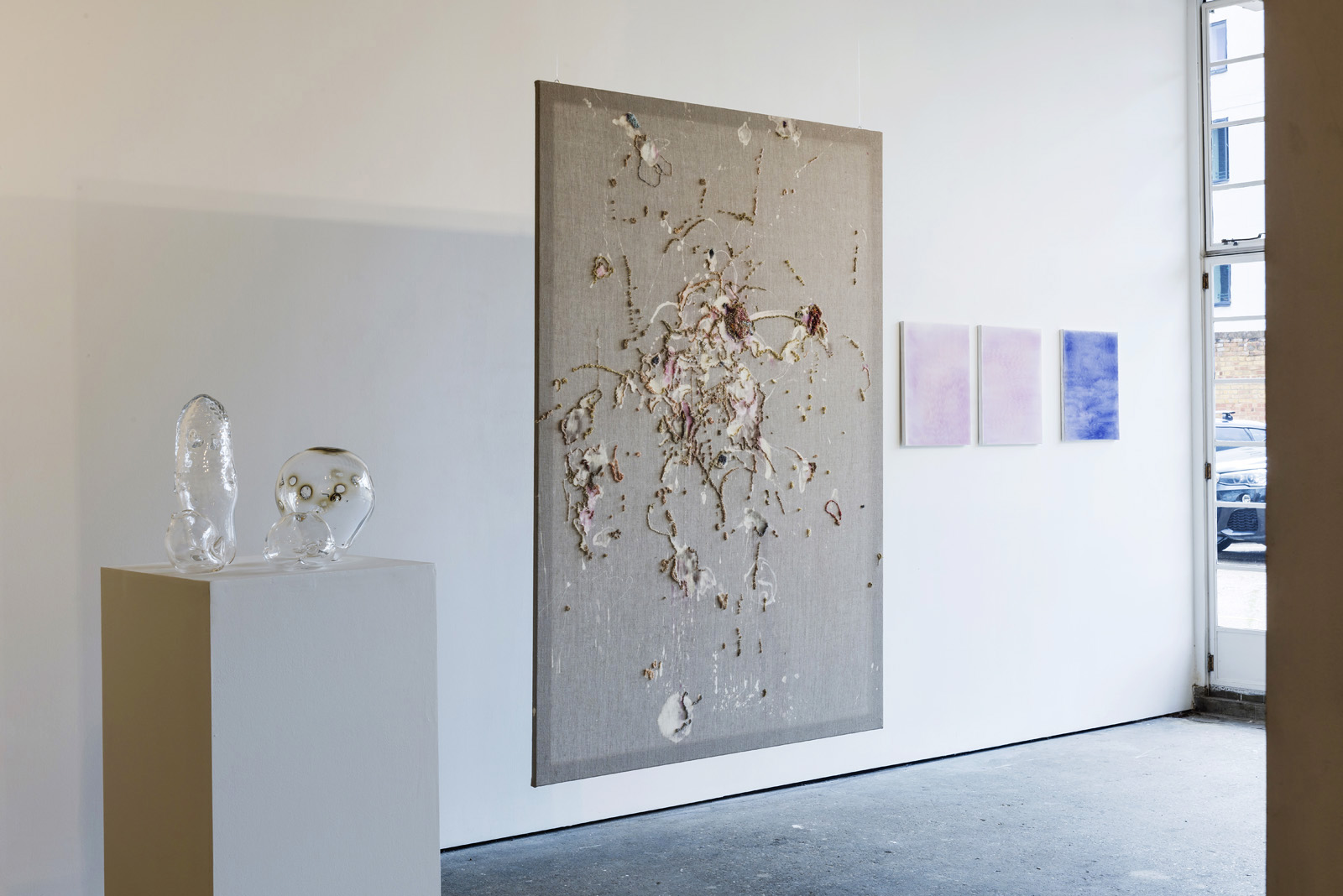 Skinscapes , 2017, installation view, Unit 1 Gallery | Workshop. All images courtesy of Paul Tucker.