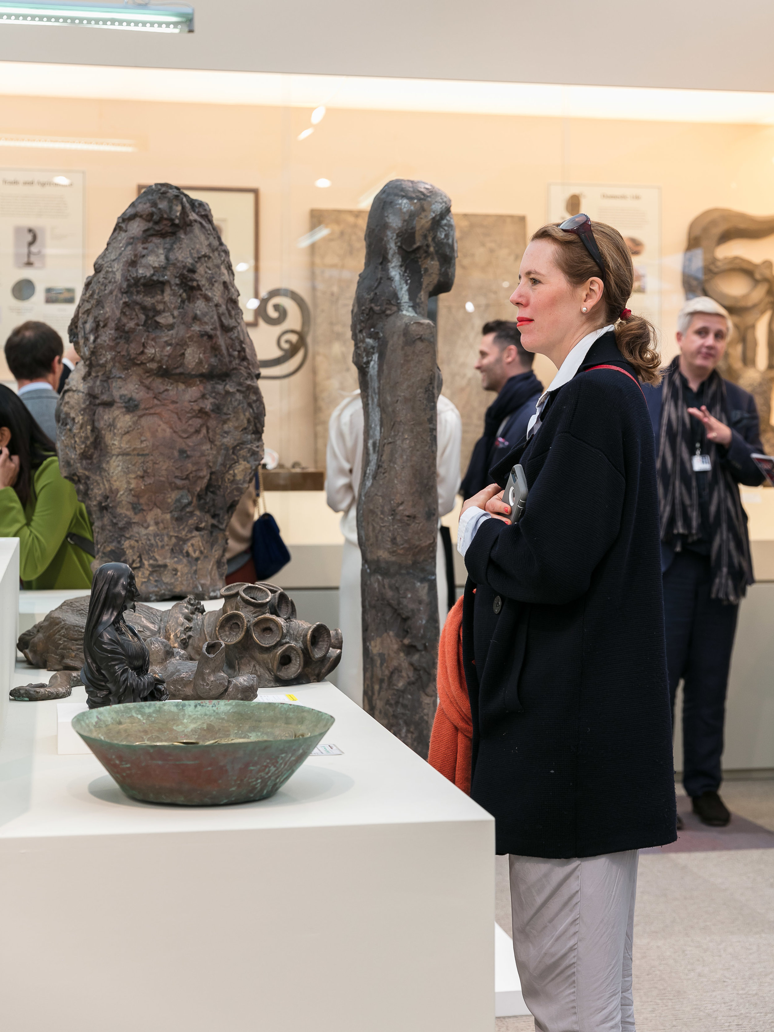 Hauser & Wirth at Frieze London.Photo courtesy of Mark Blower/Frieze.