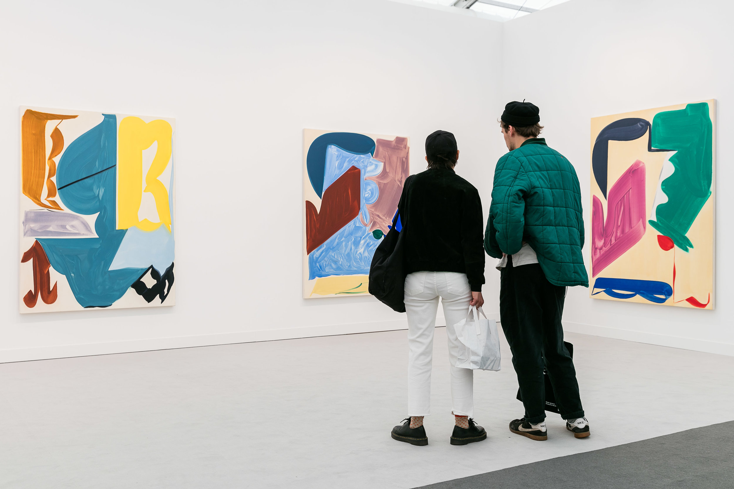 Kate MacGarry gallery at Frieze London. Photo courtesy of Mark Blower/Frieze.