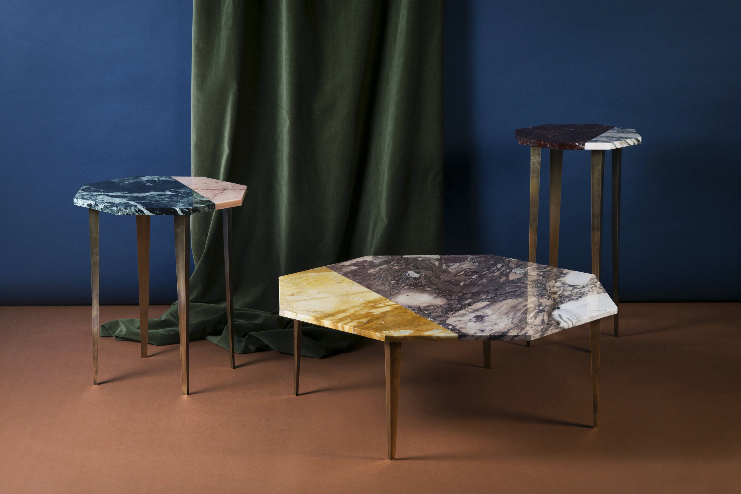 Thierry Table Collection shown at Salone del Mobile, 2017