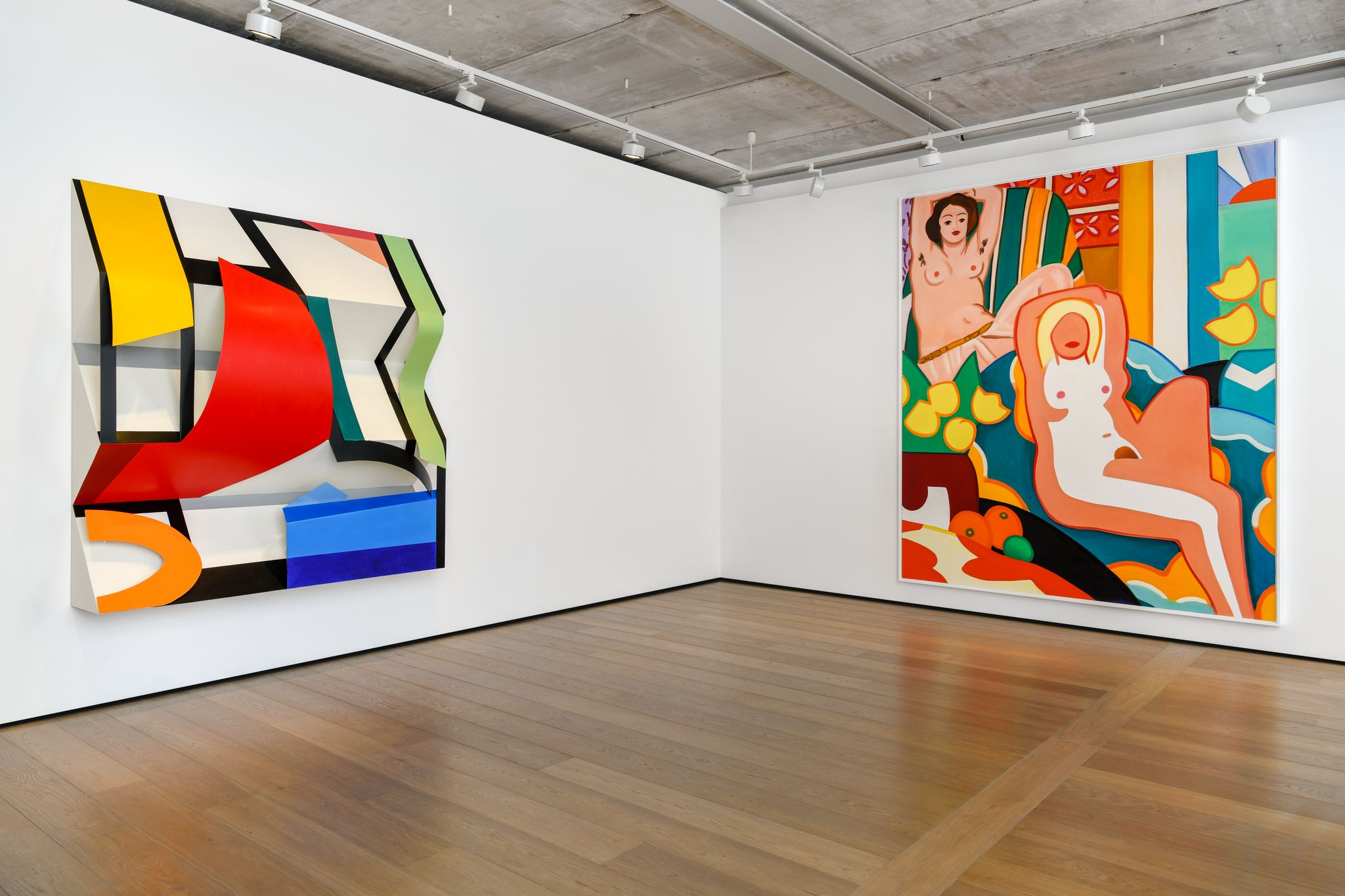 Artwork © Estate of Tom Wesselmann/Licensed by VAGA, New York and Almine Rech. Photos Melissa Castro-Duarte. Courtesy Almine Rech.