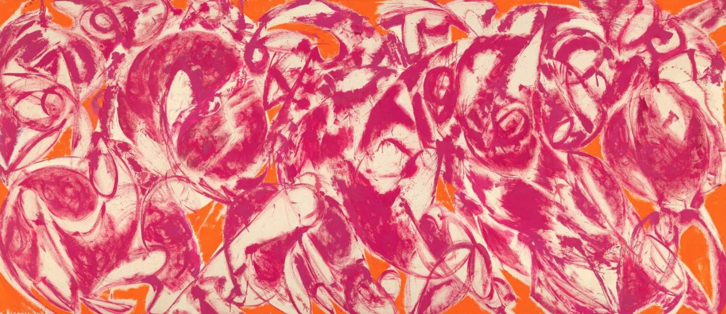 Lee Krasner  Combat 1965,  courtesy of Barbican Art Gallery, London.