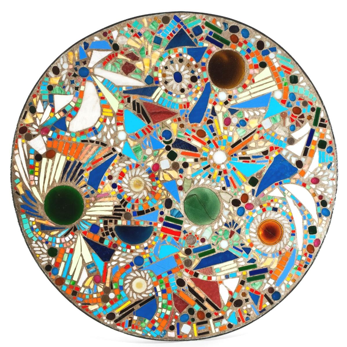 Lee Krasner  Mosaic Table 1947,  courtesy of Barbican Art Gallery, London.