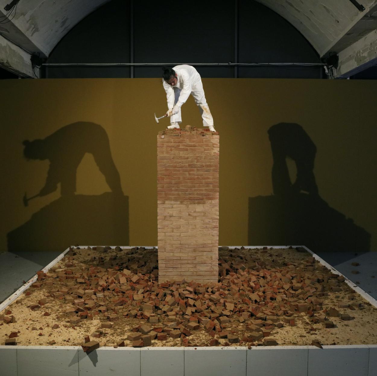Li Binyuan  Breakdown   2019,  courtesy of Lisson Gallery, London.