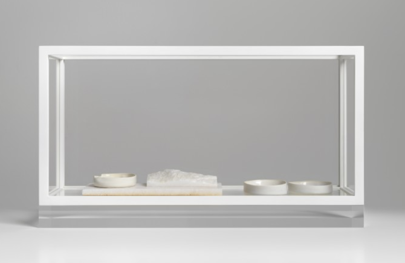 Edmund de Waal  some gold across the water I 2018,  courtesy of the artist and The Frick Collection; photo: Mike Bruce.