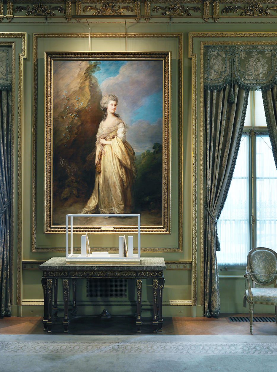 Edmund de Waal  on living in an old country I (of a set) 2019,  courtesy of the artist and The Frick Collection; photo: Christopher Burke.
