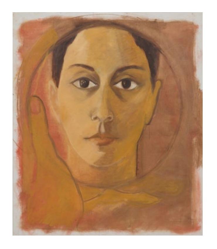 Luchita Hurtado  Untitled (Self-Portrait)  c. 1968, courtesy of Serpentine Sackler Gallery, London.