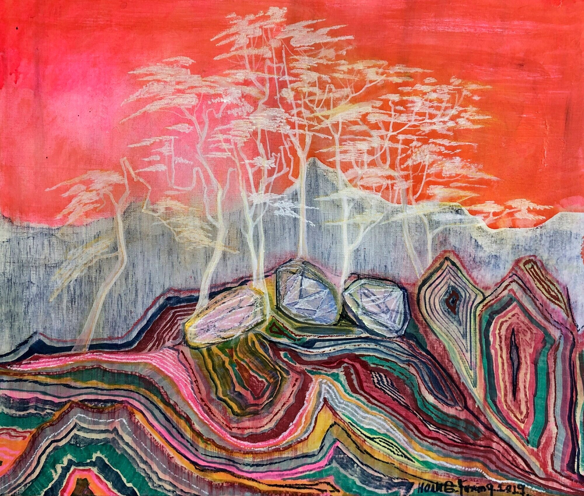 Huang Yuxing  Stone Forest 2019,  courtesy of König Galerie, London.