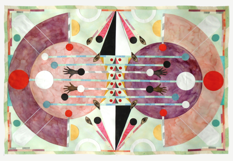 Rithika Merchant,  Diffusion  2019, courtesy of Galerie LJ, Paris.