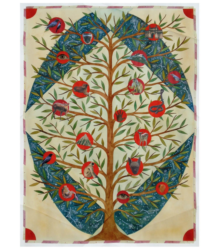 Rithika Merchant,  Memory Tree  2019, courtesy of Galerie LJ, Paris.